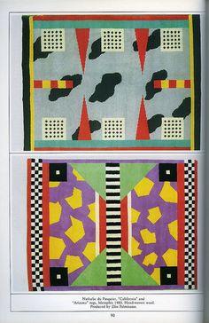 Memphis - Rugs by Nathalie Du Pasquier 1983