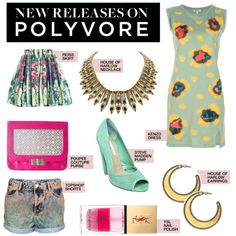 """New Releases: 8 Hot Ticket Items to Love Now"" by polyvore-editorial ❤ liked on Polyvore"