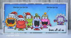 If you are looking for Christmas card inspiration then we have found it.  This card created by Jayne Palmer aka Daisyjaynes1 on Instagram had us all singing (and smiling)! Cuteness overload!  The v…