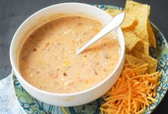 Thischicken tortilla soupis quick to make, flavorful, and filling, plus it freezes well. Garnish with avocado, Monterey Jack cheese, or green onion! Servings: 10 (1 cup) Nutrition tips :Pointsplus: 8 , Smartpoints: 8, Calories 328, Fat: 10.3g,Saturated Fat: 3g, Carbs: 29.6g, Fiber 6g, Protein: 30g, Sugar: 1g Ingredients : •2 tablespoons flour •3 14oz cans …