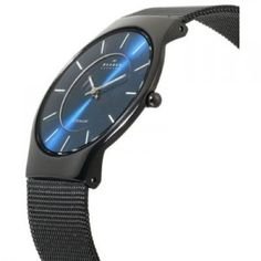 Skagen.  I have this watch and love the color.