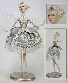 "Katherine's Collection 26"" Exquisite Porcelain Fairy Doll Wayne Kleski Sale!"