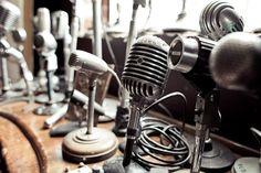 vintage mics <3