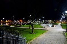 Digital Desktop Wallpaper  Park at night  by JamesMcCarthyPhoto