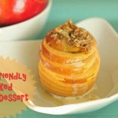 Kid-Friendly Baked Apple Dessert