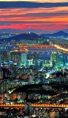 Seoul, Zuid-Korea.