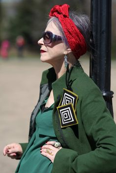ADVANCED STYLE: Beatrix Ost in Central Park