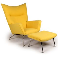 The year was 1960. Danish modern furniture design legend, Hans J Wegner sketched an upholstered wing chair literally on a drawing board using pencil and