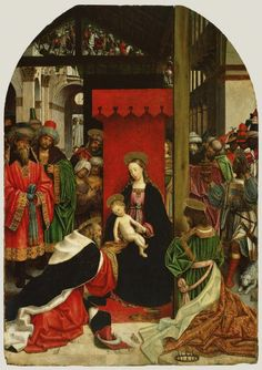 Adoration of the Magi  Defendente Ferrari [Italian, active about 1500 - 1535] , Adoration of the Magi.   Italian, about 1520