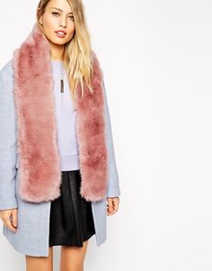 Whistles Faux Fur Scarf
