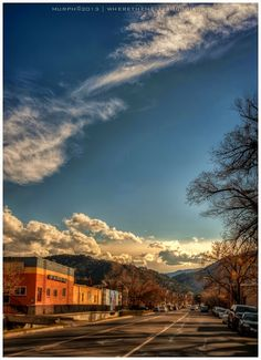 Pearl St, Boulder, CO.