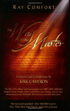 The Way of the Master by Ray Comfort http://www.amazon.com/dp/0882702203/ref=cm_sw_r_pi_dp_X9XTtb0AKWMGG89W