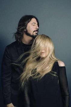 Grohl / Nicks THAT IS LIKE THE COOLEST PHOTO ART. IT'S BEAUTIFUL. GROHL USED TO PLAY WITH NIRVANA. I'M SO GLAD HE BROKE OUT ON HIS OWN BECAUSE HE'S GOT SUCH A GREAT BAND.