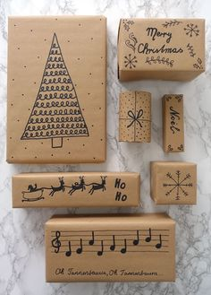 Christmas Gift Wrapping, Christmas Love, Diy Christmas Gifts, Christmas Projects, Christmas Holidays, Christmas Decorations, Creative Gift Wrapping, Wrapping Ideas, Gift Wraping