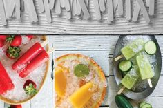 Summer Paletas – Ice Pops with Cucumbers, Jalapeño & Fresh Fruits – The Daily Basics