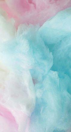 Hintergrund süß zuckerwatte Pastell