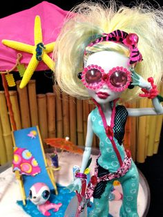 MONSTER HIGH Lagoona Blue Summer Scuba Doll / Outfit by GhoulsRule