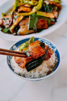 18 Must-Try Chinese Pork Belly Recipes | The Woks of Life Chinese Pork Belly Recipe, Pork Belly Recipes, Pork Restaurant, Twice Cooked Pork, Asia Food, Pork Belly Slices, Wok Of Life, Asian Recipes, Ethnic Recipes