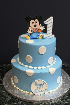 2D Mickey #cakes