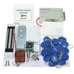 Mjpt02 Entry Strike Door Lock Access Control System Bell 20 Id C Card Remote Home 1126971