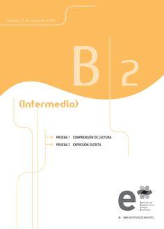 Modelos de examen B2