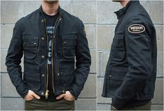 vanson motorcycle jackets