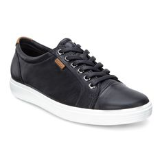 Кеды ECCO SOFT VII 430003/01001 | Цена 8390 руб.| Купить в интернет-магазине ecco-shoes.ru
