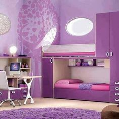 Such a great purple space!