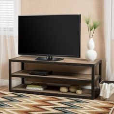 Shop for Perth 3-Shelf Industrial Entertainment TV Console Stand with Shelf by Christopher Knight Home. Get free shipping at Overstock.com - Your Online Furniture Outlet Store! Get 5% in rewards with Club O!