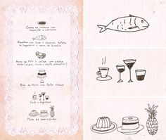 Wedding illustrations by Catarina Gomes