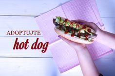 hot dog recept Hot Dog Buns, Hot Dogs, Beef, Ethnic Recipes, Food, Meat, Essen, Meals, Yemek