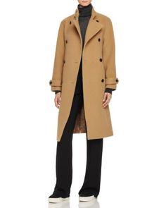 Vince Wool-Blend Trench Coat | Bloomingdale's
