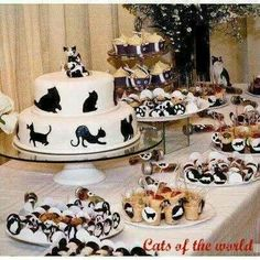 Cat themed party! Just kidding....but not really...