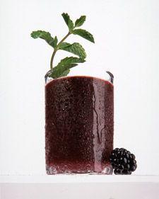 Blackberry Mint Julep - one of my fav drinks :)