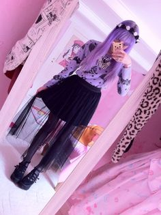 Pastel Goth Tumblr S Pastel Goth Princess By