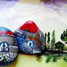 #stoneart #rockpainted #colors #instadesign #instadecor