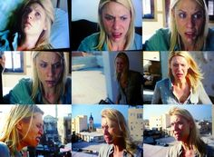 One Scene from Homeland; so many faces. Claire Danes, the all time winner of the ugly cry. Ugly Cry, Claire Danes, Elements Of Style, Many Faces, How To Take Photos, Awkward, More Fun, I Laughed, Evolution