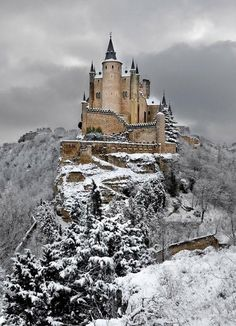 Alcázar in Segovia, Spain   - Explore the World, one Country at a Time. http://TravelNerdNici.com