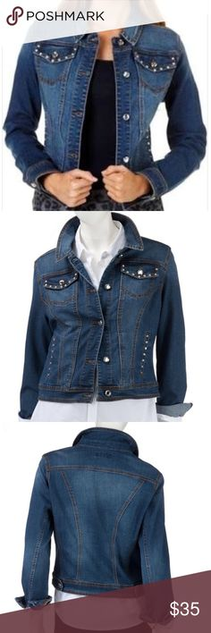 ❤️clearout❤️ Denim jacket In perfect condition. Stretchy denim Earl Jeans Jackets & Coats Jean Jackets