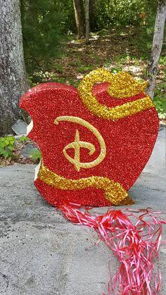 Disney Descendants Bitten Apple Pinata by AdinaBallerinaNY on Etsy