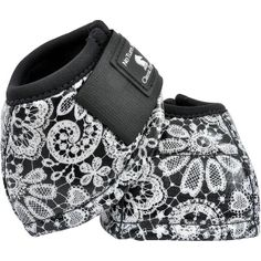 Classice Equine Designer Line Bell Boot Lace....these are adorable.  I'll bet Sahara would like these better than her plain black ones.....she really has great taste for a horse.
