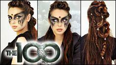 Commander Lexa Hair & Makeup Tutorial! | The 100