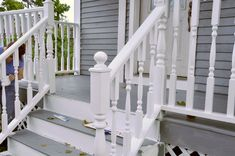 Rainy Day Renovations : Front Porch - Painting by Wan Chi Lau ...