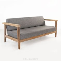 Copenhague Reclaimed Teak Loveseat-0