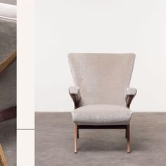 Good design is a 360° exercise. Proof brought to us by Nilufar with these precious 20th century pieces by Martin Eisler & Carlo Hauner, Joaquim Tenreiro and Franco Albini, featuring our Palatine and Pur Mohair velvets.  @nilufargallery
