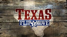 In DIY Network's Texas Flip and Move, three teams of real estate entrepreneurs compete in a house-flipping competition where the game is to buy low, work fast and sell high. The catch: after the house is bought at auction, it has to be moved off the property that day.