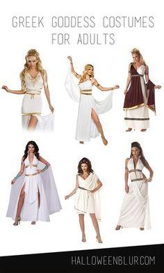 Griechische Göttinnen Kostüme Greek Goddess Costumes For Adults Diy Halloween Costumes, Adult Costumes, Greek Costumes, Pirate Costumes, Greek Goddess Costume, Godess Costume, Toga Costume, Greek Dress, Toga Party