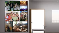 Collage Portrait Gallery Wrap Canvas make it personal with your own photos!