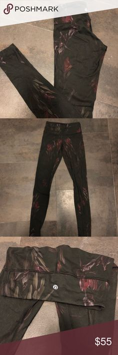 Reserved!! Lulu lemon leggings! Limited edition! Perfect condition just too small for me:( never got to wear lululemon athletica Pants Leggings