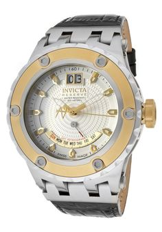 Price:$439.99 #watches Invicta 10095, The Invicta makes a bold statement with its intricate detail and design, personifying a gallant structure. It's the fine art of making timepieces.